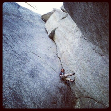 The Masher Crack 5.12a.