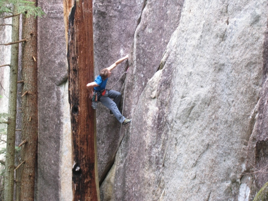 A Squamish Pioneer samples The Thonghouse 5.11